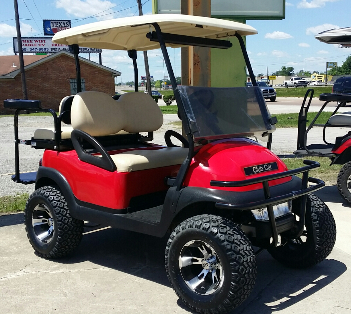 Used Cars Beaumont Tx >> Custom Carts | Golf Carts, New and Used Electric and Gas ...