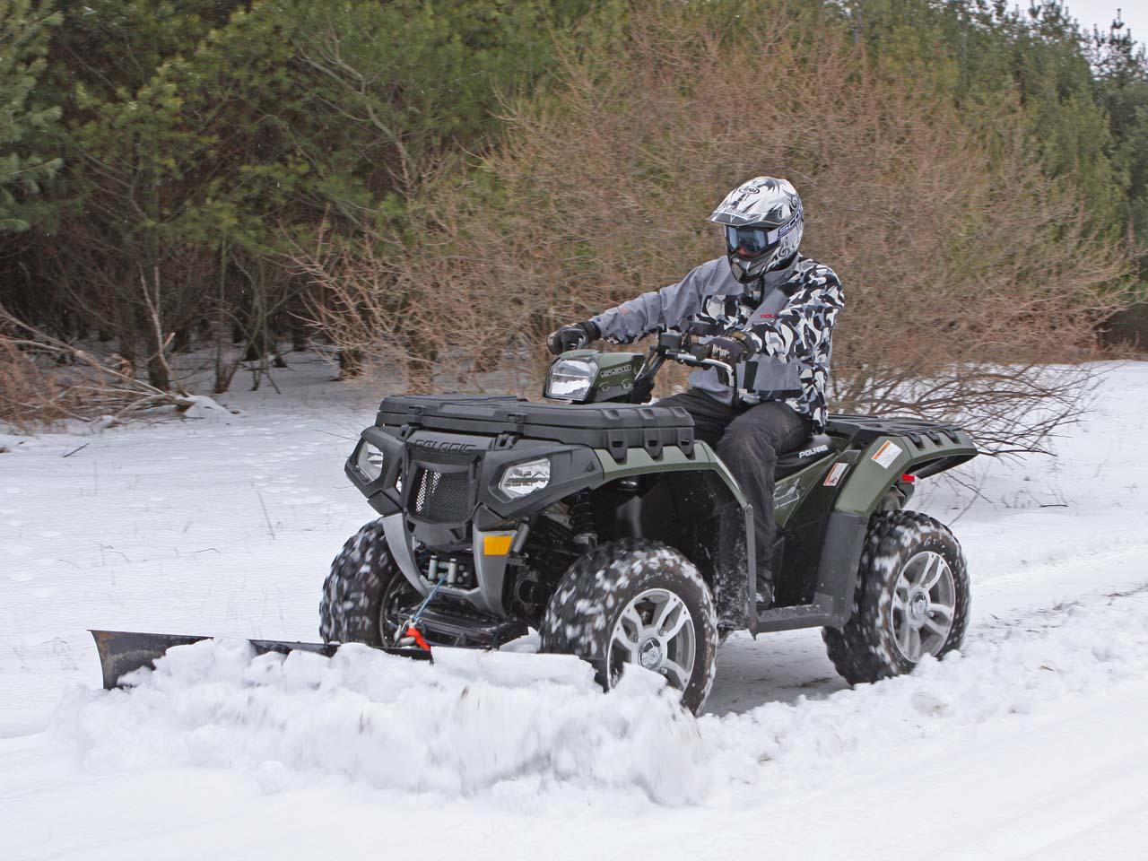 atv snow plow business plan